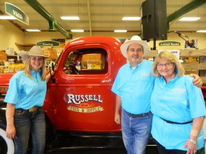Russell Feed & supply staff