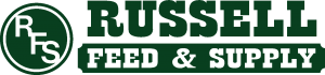 russell feed new logo green