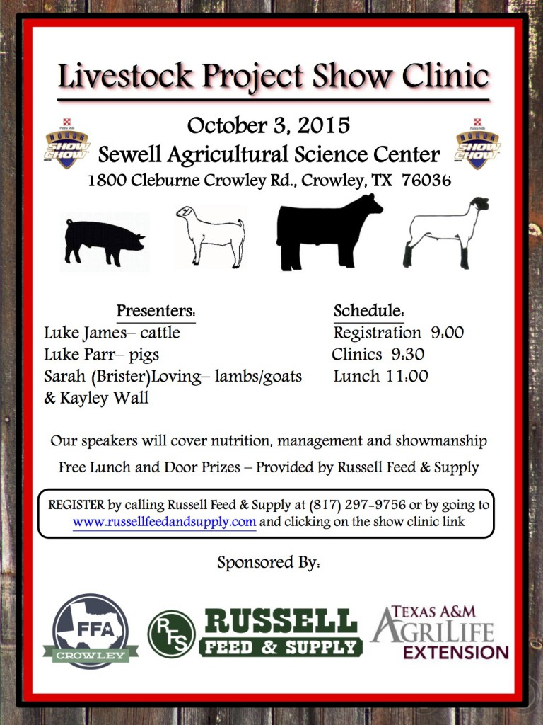 Crowley Show Clinic