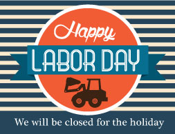 Closed Labor Day