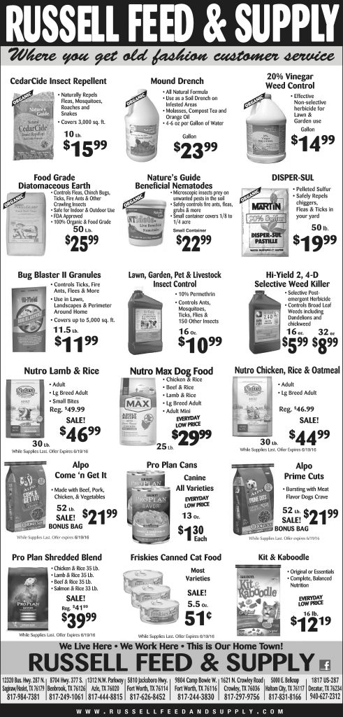 June Newspaper Specials