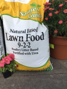 Natural Based lawn food